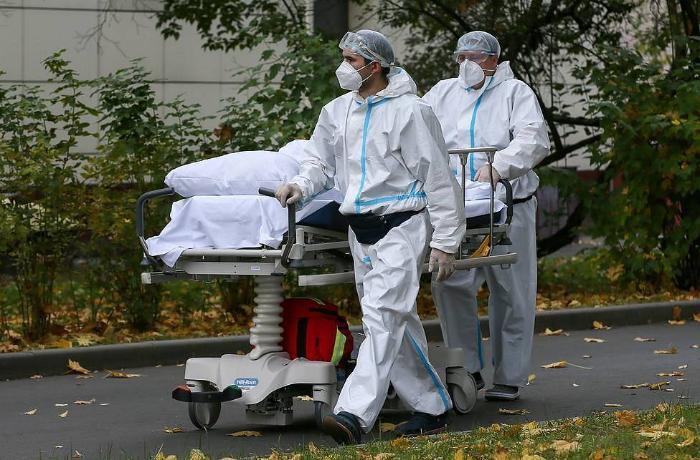 Rusiyada son 24 saatda 561 nəfər koronavirusdan öldü