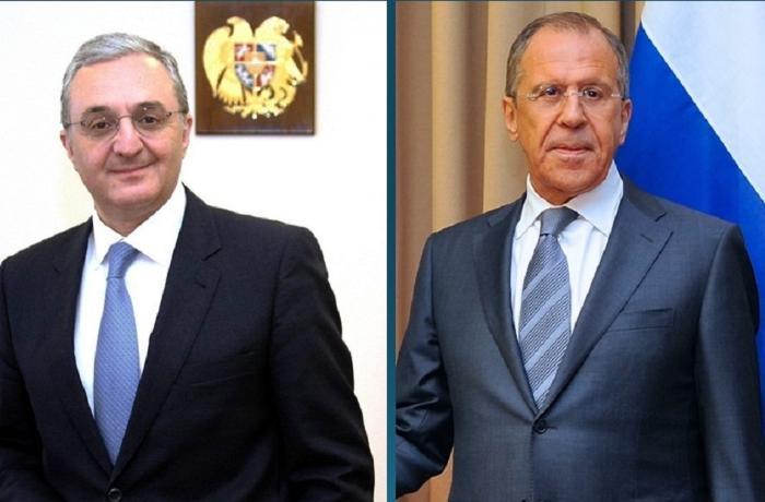 Lavrov Ermənistan XİN başçısı ilə bəyanatın yerinə yetirilməsi məsələsini m ...