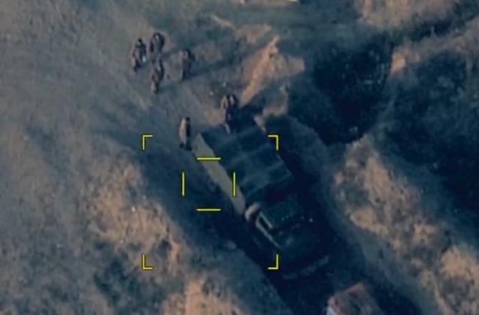 Еще один сокрушительный удар по ВС Армении: противник понес большие потери - ВИДЕО