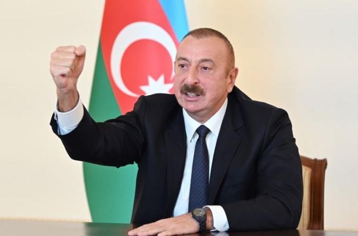 """Prezident: """"Başlarından elə zərbə vurduq ki, çətin ki, ayılsınlar"""""""