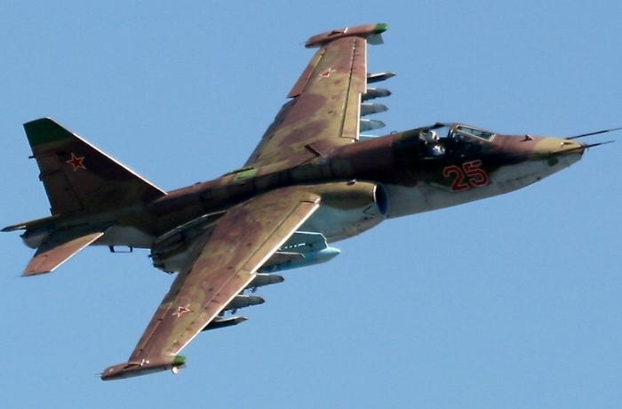Azerbaijani MoD: Armenia's two Su-25 attack aircrafts