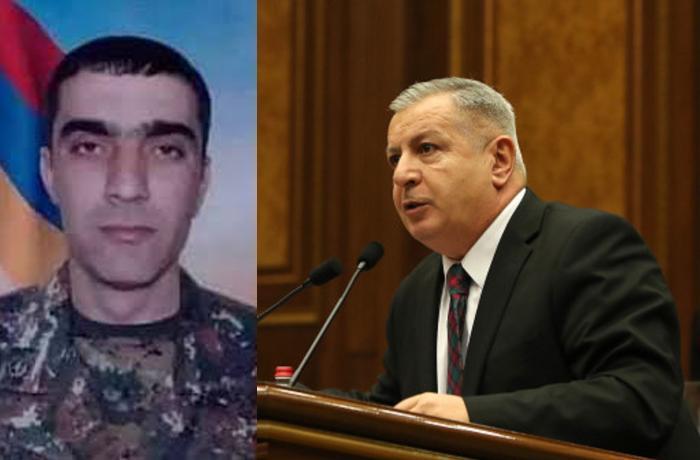 Erməni deputatın qardaşı oğlu ordumuz tərəfindən məhv edildi