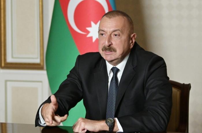 """""""Ermənistan rəhbərliyi özünü düşük kimi aparır"""" - İlham Əliyev"""