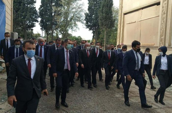 Türkiyə parlamentinin sədri Gəncədədir