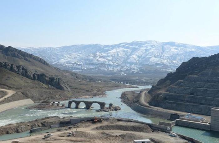 В Азербайджане завершено строительство двух водохранилищ на реке Араз