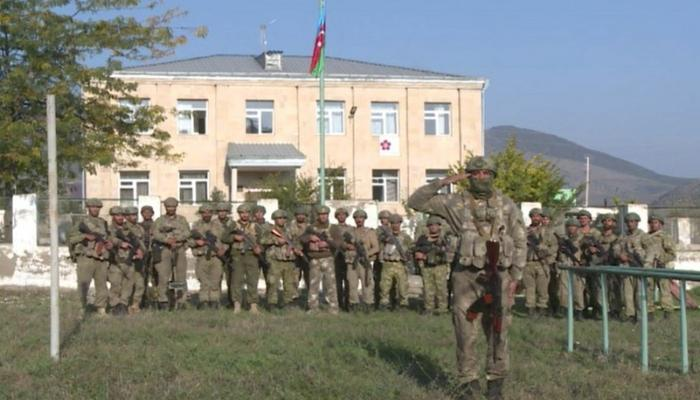 Azerbaijan hoists flag in liberated Zangilan - VİDEO