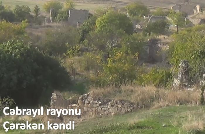 İşğaldan azad olunan Çərəkən kəndi - VİDEO