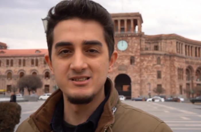 """Ermənistanda """"Xocalı"""" ilə bağlı sorğu keçirən məşhur bloger Azərbaycana gəlir – FOTO"""