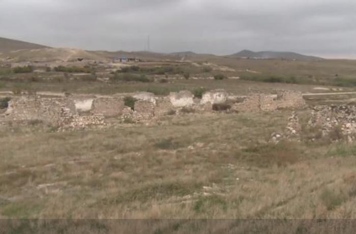 Cəbrayılın işğaldan azad edilən Minbaşılı kəndinin GÖRÜNTÜLƏRİ