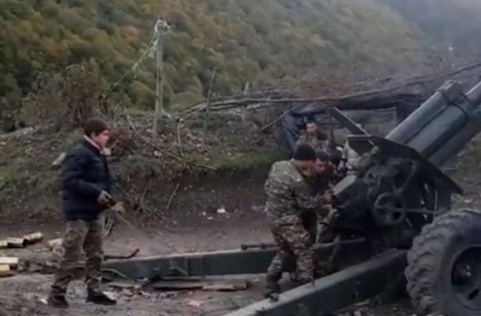 Ermənistan Azərbaycan Ordusuna qarşı uşaqlardan istifadə edir - VİDEO