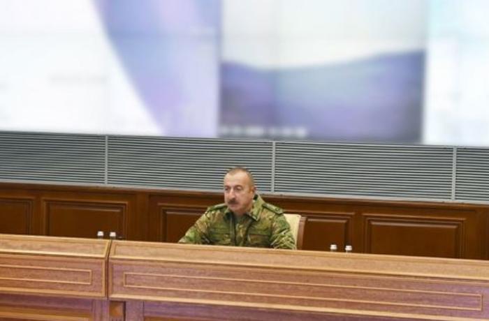 """Prezident: """"Ermənistana havadarlıq edənlər atəşkəs istəyirlərsə..."""""""