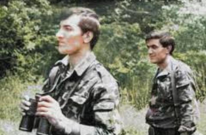 Əliyar Əliyevin Qubadlıda çəkilmiş fotosunun yenilənmiş halı - FOTO