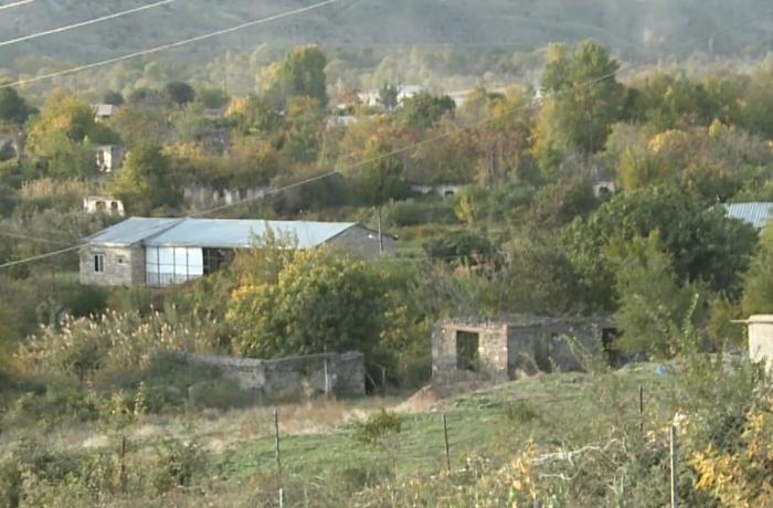 Видеокадры из освобожденных от оккупации сел Гияслы и Сарыятаг Губадлинского района - ВИДЕО