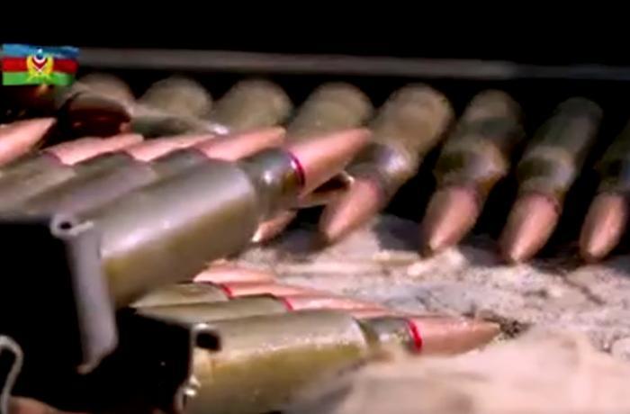 Ordumuz qarşısında dayana bilməyən düşmən öz texnikalarını qoyub qaçır - VİDEO