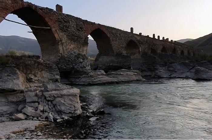 İşğaldan azad olunan Xudafərin kəndinin görüntüləri - VİDEO
