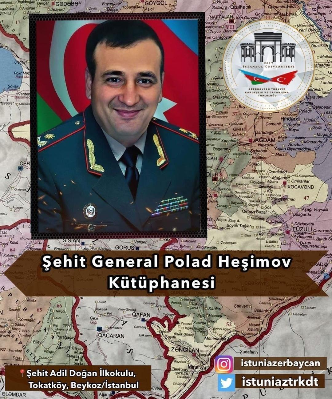 Polad Həşimovun adı İstanbulda kitabxanaya veriləcək