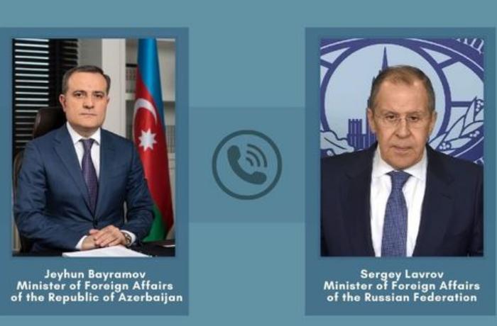 Azərbaycan və Rusiya XİN başçıları Qarabağ məsələsini müzakirə etdi