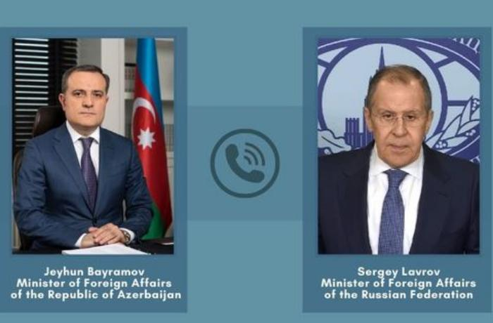 Lavrov, Azerbaijani top diplomat discuss implementation of Karabakh statement
