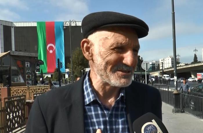 """""""Əsgərlərimizə canımız qurban olsun!"""" - VİDEO"""