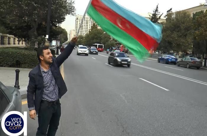 Bakı QƏLƏBƏNİ qeyd edir - VİDEOREPORTAJ