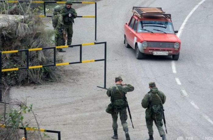 Rusiyalı hərbçilərdən erməni sürücülərə XƏBƏRDARLIQ –
