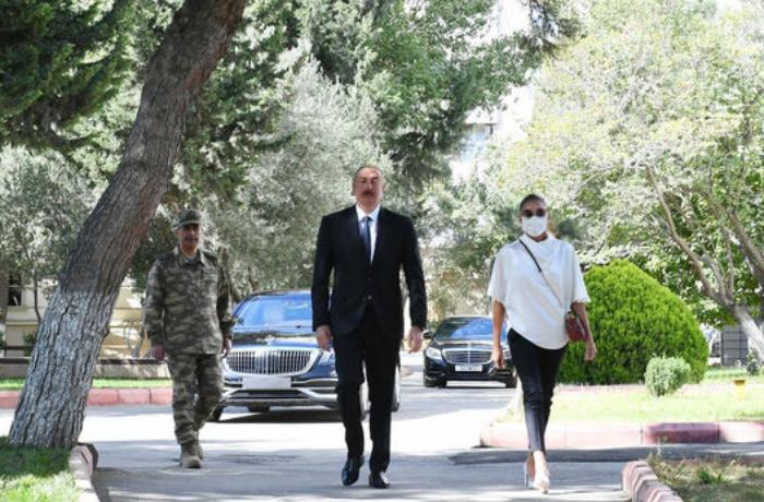 President and First Lady visited liberated Jabrail region - VIDEO