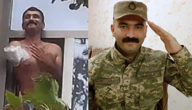 """""""Yaralanan zaman gördüm ki, solumda Mais Bərxudarov bizimlə birlikdə döyüşür"""" - VİDEO"""