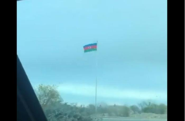 """""""Azərbaycan bayrağına, Azərbaycan əsgərinə, Azərbaycan xalqına eşq olsun"""" - VİDEO"""