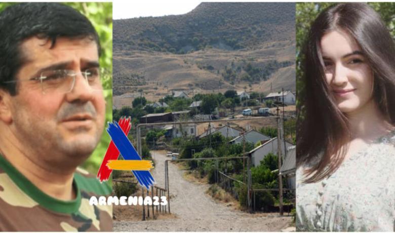 Ağdamdan köçən erməni qız: Azərbaycanlı zabit burdakı ermənilərdən daha yaxşı çıxdı