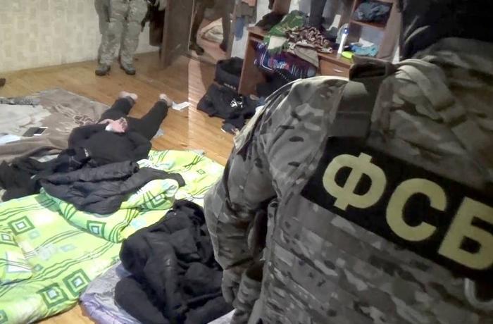 Moskvada terror aktı planlaşdıran İŞİD üzvləri saxlanıldı – VİDEO
