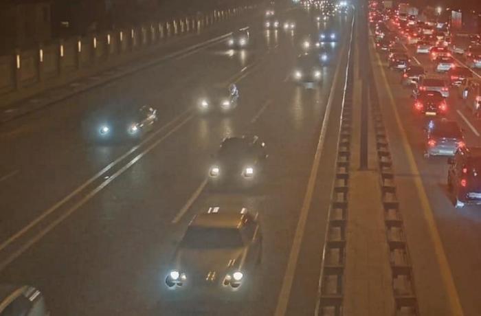 Bakıda ağır yol nəqliyyat hadisəsi baş verib - FOTO