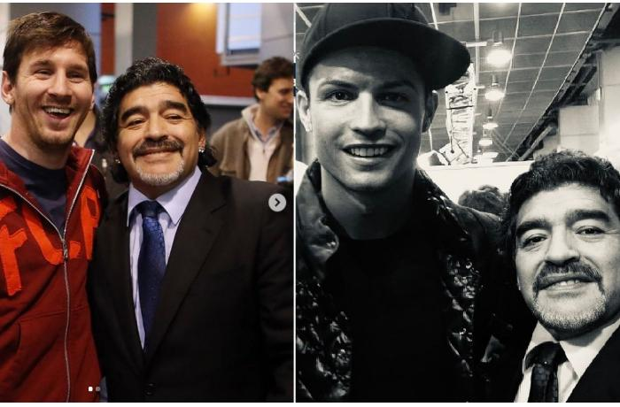 Messi və Ronaldu Maradonanı yad etdilər - FOTO
