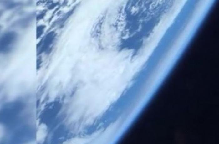 """SpaceX""in astronavtı dünyanı kosmosdan görüntülədi - VİDEO"
