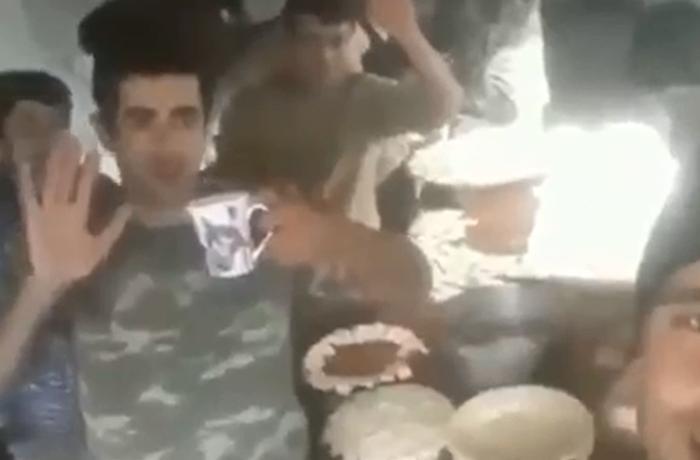 Əsgərlərimiz Şuşada xəngəl bişirdi - VİDEO