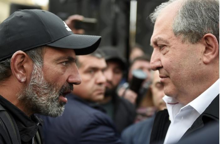 Ermənistan prezidenti Paşinyanı istefaya çağırdı