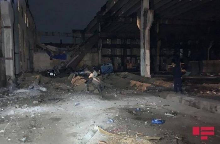 Xırdalandakı partlayış nəticəsində 9 ailə evsiz qalıb RƏSMİ AÇIQLAMA