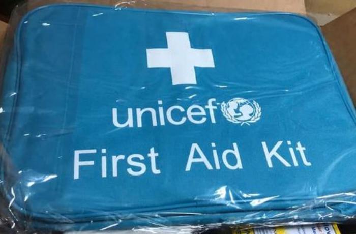 UNICEF Qarabağ münaqişəsinə görə Azərbaycana yardım göndərdi - FOTOLAR