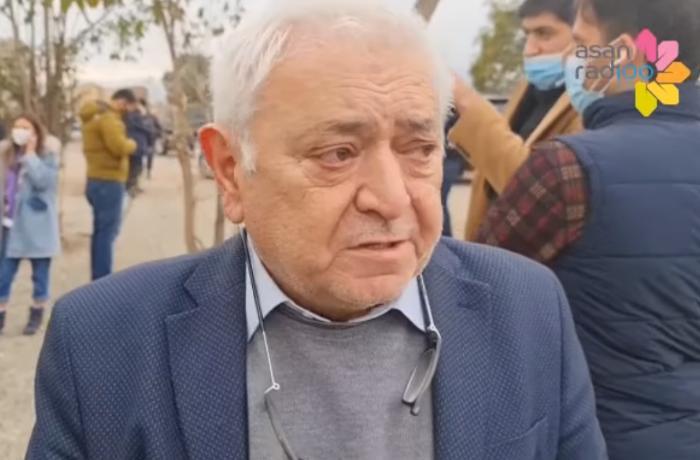 Ağdamdakı evini tapan Aqil Abbas ağladı - VİDEO