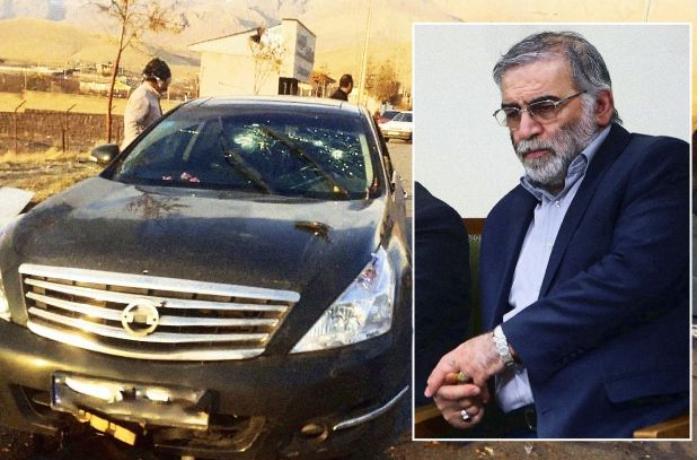 """İran mətbuatı: """"Fəxrizadə kosmosdan idarə edilən silahla öldürülüb"""""""