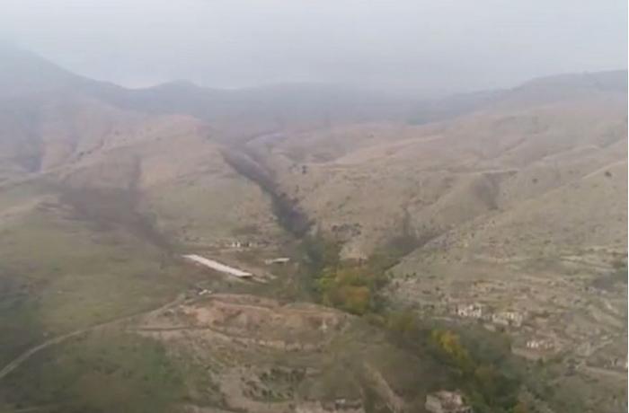 Кадры освобожденного от оккупации села в Зангиланском районе - ВИДЕО