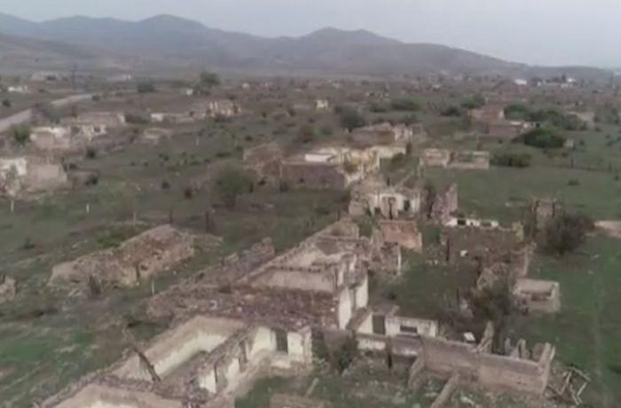 Опубликованы кадры освобожденного от оккупации села Бартаз Зангиланского района - ВИДЕО