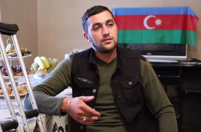 """""""Yaralanan əsgər yoldaşım dedi ki, məni güllələ əsir düşməyim"""" - VİDEO"""