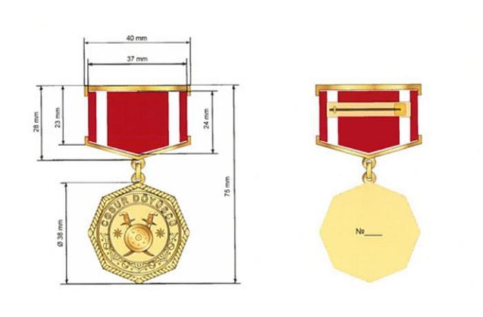 """Bir qrup hərbçi """"Cəsur döyüşçü"""" medalı ilə təltif edildi - SİYAHI"""