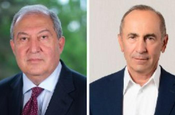 Ermənistan prezidenti Robert Koçaryanla görüşdü