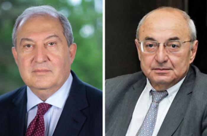 Ermənistan prezidenti müxalifətin vahid namizədilə görüşdü