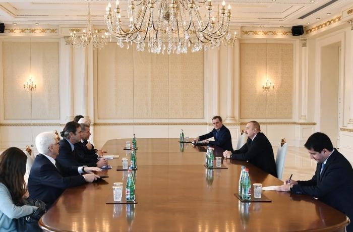 Prezident ATƏT-in Minsk qrupunun həmsədrlərini qəbul etdi