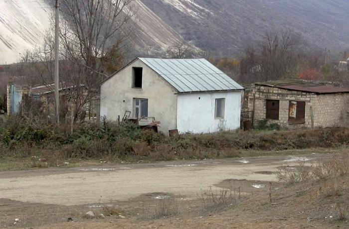 Ağdamın Qızıl Kəngərli kəndindən görüntülər - VİDEO
