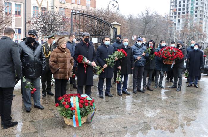 Ukraynada Azərbaycanın ümummilli lideri Heydər Əliyevin xatirəsi yad edilib