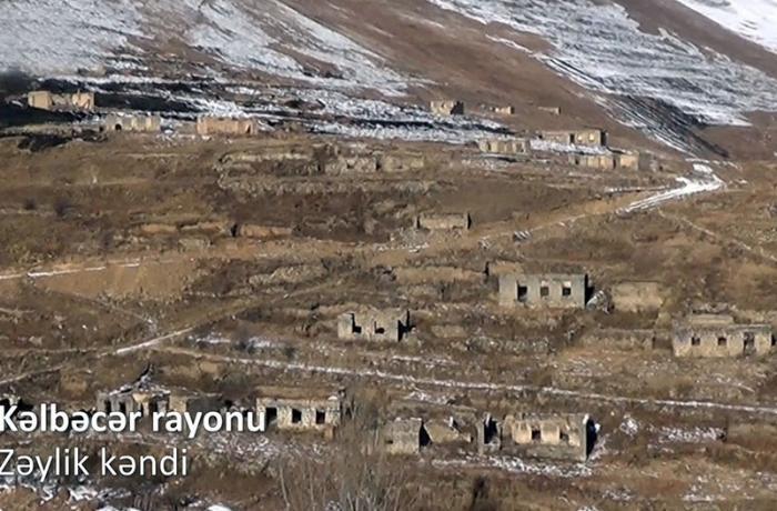 Kəlbəcər rayonunun Zəylik kəndindən VİDEOREPORTAJ