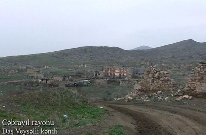 Кадры из села Даш Вейселли Джебраильского района - ВИДЕО